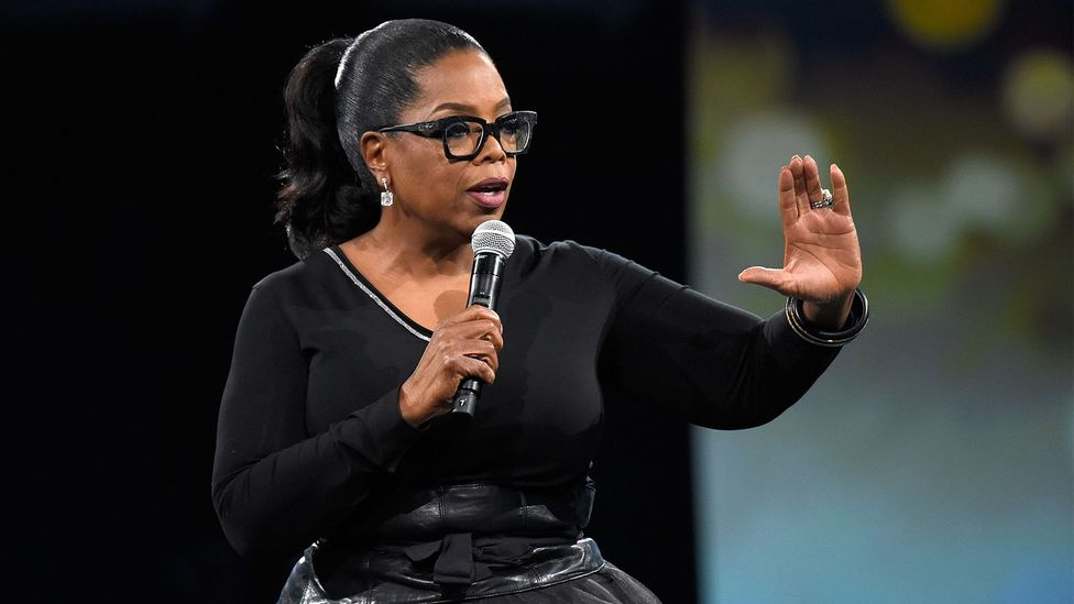 Oprah Winfrey offered a hopeful narrative that people liked to hear, Cederström says (Credit: Getty Images)