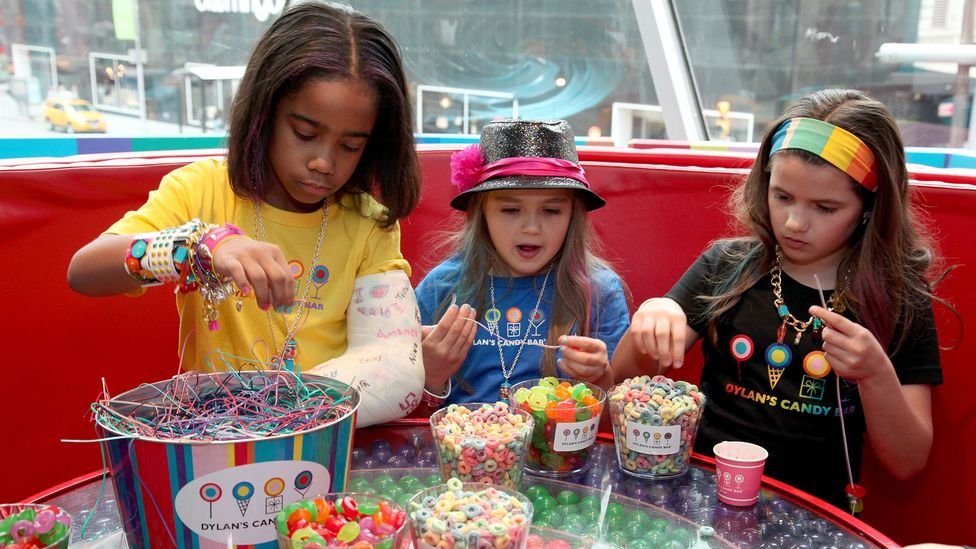 In the US, sweets are presumed to be (and perhaps therefore become) children's preferred foods (Credit: Getty)