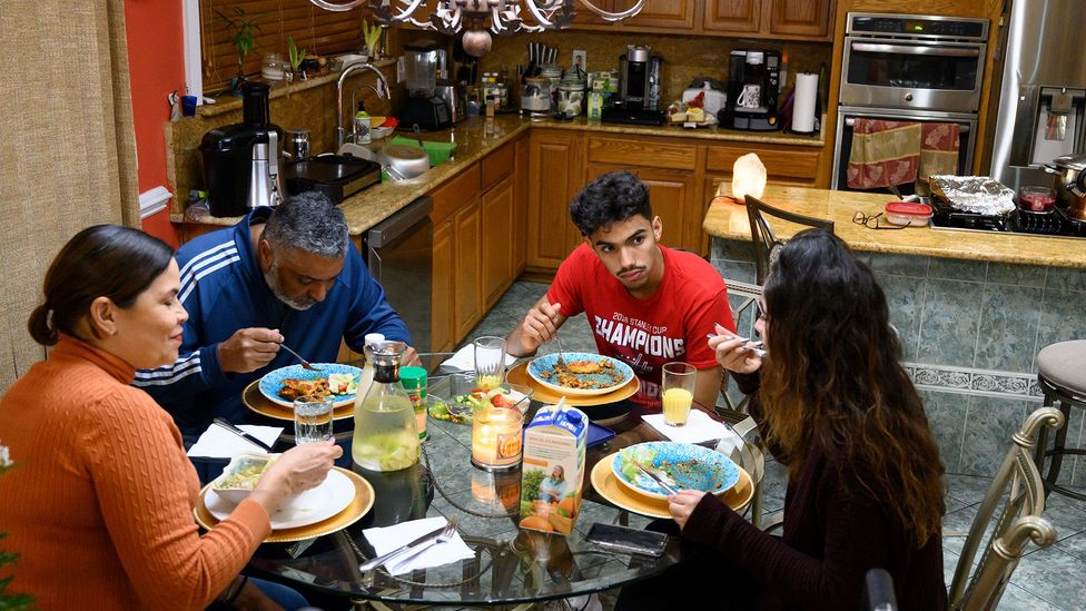 'We think of the family meal as something everyone does, but it is closely related to class and race' (Credit: Getty)