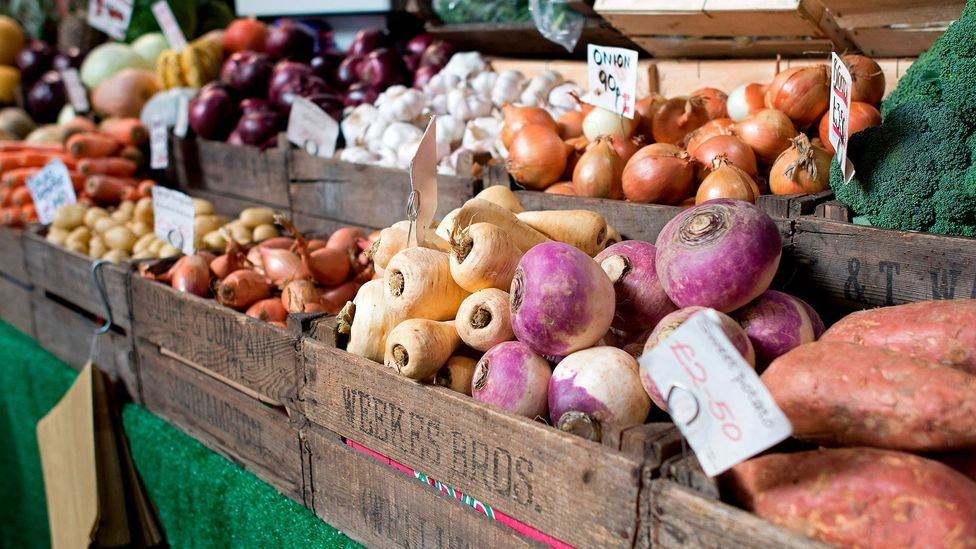 Farmers' markets create value for products we can buy an infinite number of in supermarkets (Credit: Getty)