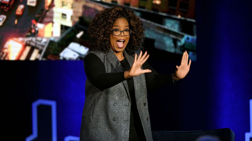 Oprah Winfrey is another successful person with a love of reading: on her talk show, she regularly included segments for her famous book club (Credit: Getty Images)