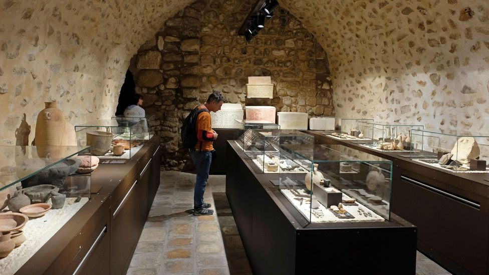 Jerusalem's Terra Sancta Museum houses ancient artefacts that have been uncovered and preserved by the Franciscan Order (Credit: Eddie Gerald/Alamy)
