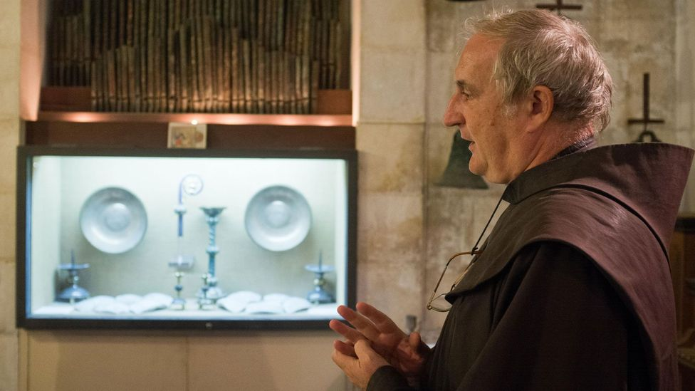 """Reverend Eugenio Alliata: """"You have to know about the daily life to really understand Jesus, to understand the parables"""" (Credit: Nir Alon/Alamy)"""
