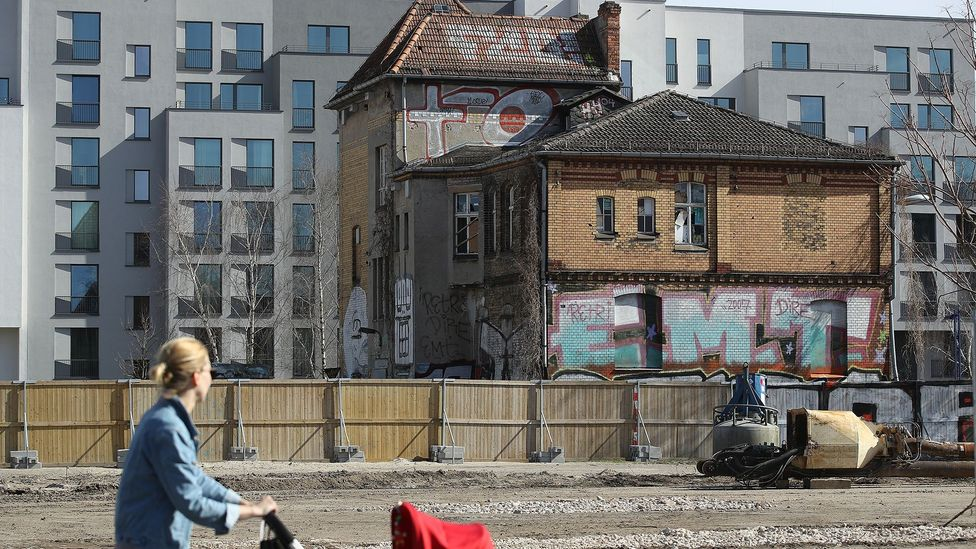 A construction boom is underway in the German capital as developers seek to cash in on the city's growing population and popularity (Credit: Getty Images)