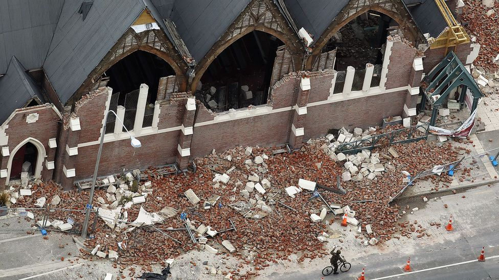 Aftershocks can sometimes lead to more deaths than the initial earthquake, such as in Christchurch, New Zealand, in 2011 (Credit: Getty Images)