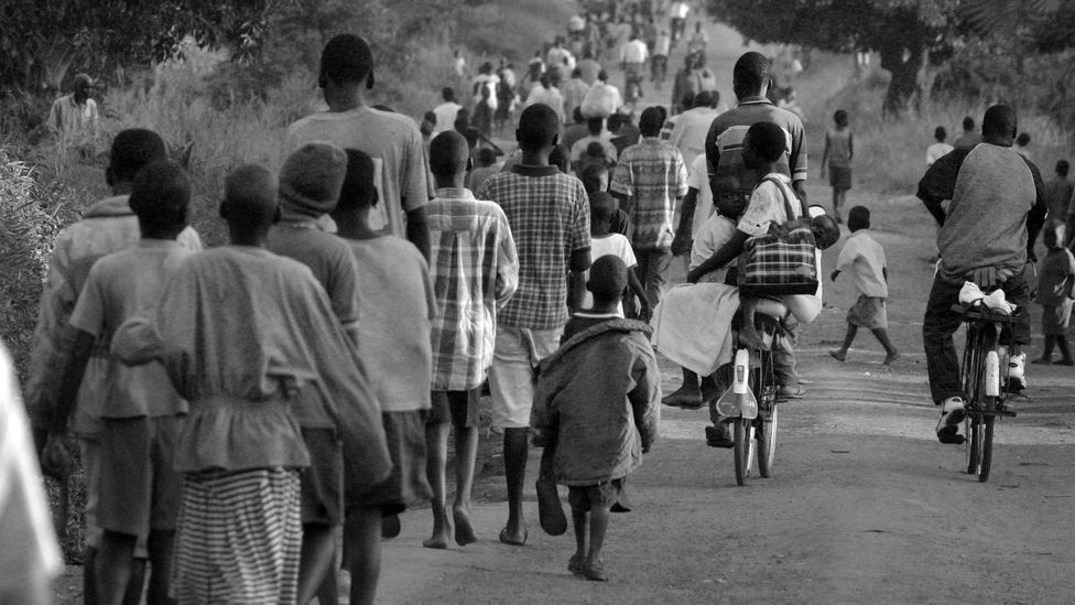 The civil war in Uganda led to the spread of diseases such as measles, which may explain the emergence of nodding syndrome in the worst affected regions (Credit: Getty Images)