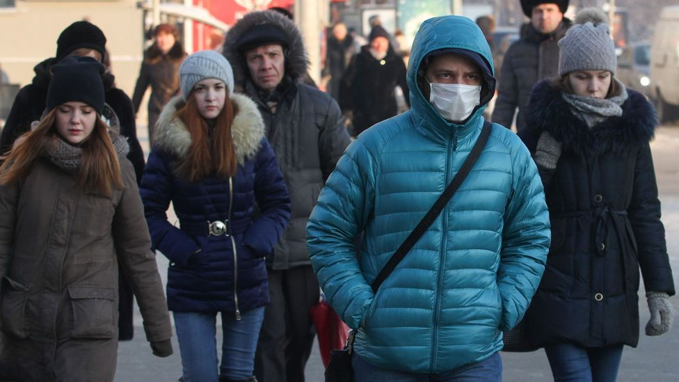 During flu season, it's imperative that sufferers stay at home while they're still contagious (Credit: Getty Images)