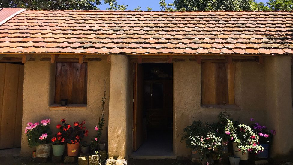 Locals wanted traditional-looking homes in Hueyapan, so Siembra Arquitectura designed rectangular suberadobe buildings (Credit: Mallika Vora)