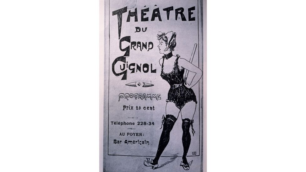 The short horror plays were interspersed with one-act sex farces (Credit: BBC)