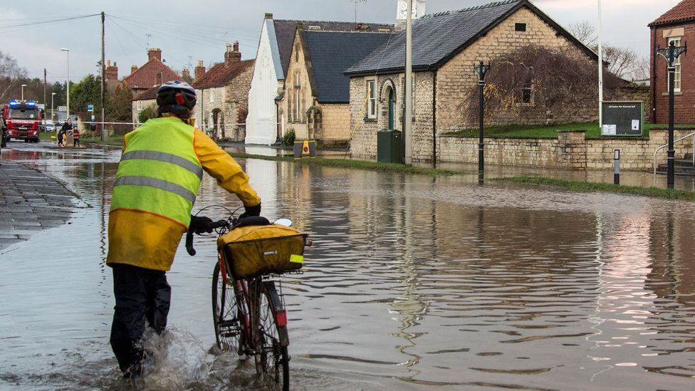 Much of the UK's rain falls in Scotland, Wales and northern England (Credit: Getty)