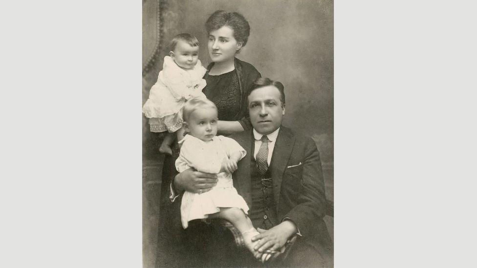 Primo Levi was born into a liberal Jewish family, and grew up in Turin, Italy (Credit: Archivio Fondazione CDEC, Milano)