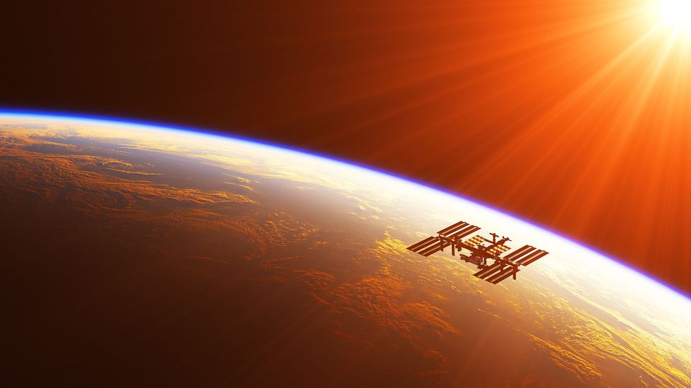 A few moneyed tourists have been able to pay to visit the International Space Station (Credit: Getty Images)
