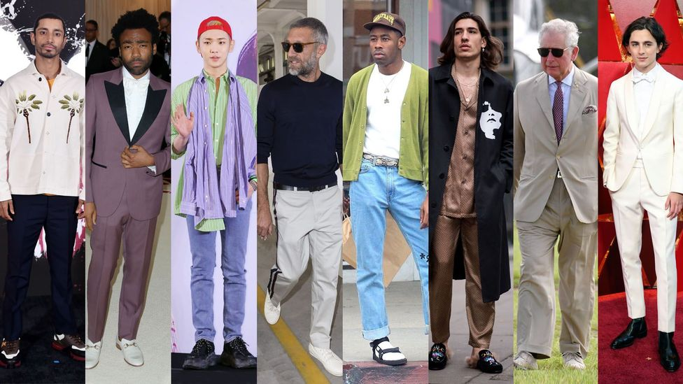The Mr Porter best-dressed men for 2018 sported a variety of looks (Credit: Mr Porter)