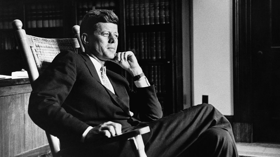 The sharp-suited John F Kennedy was the embodiment of a certain type of masculinity (Credit: Getty Images)