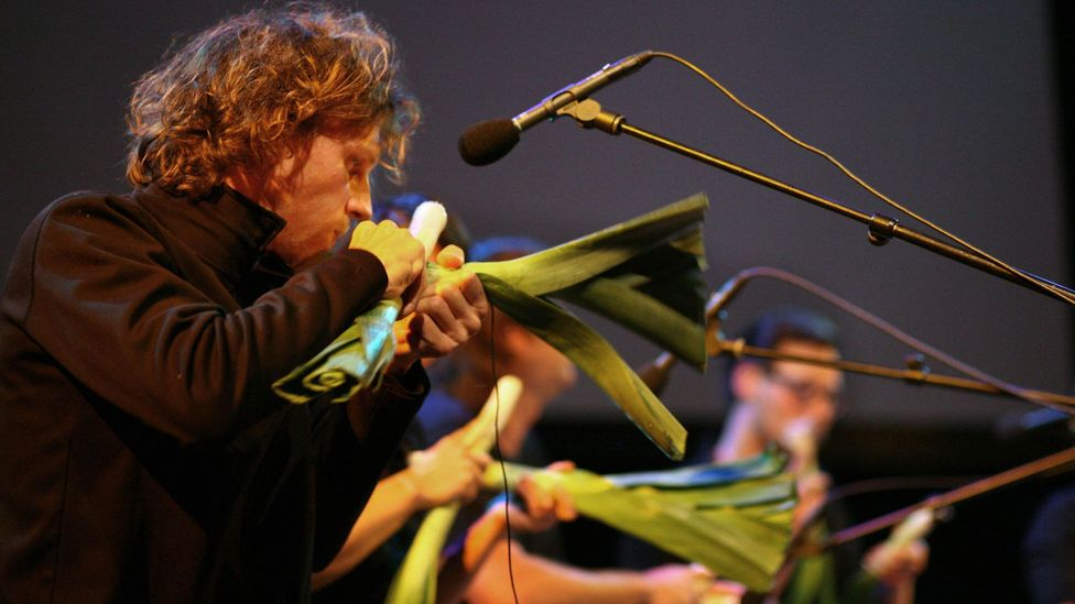 In the past 21 years, Vienna's Vegetable Orchestra has played nearly 300 shows all around the world (Credit: Heidrun Henke)