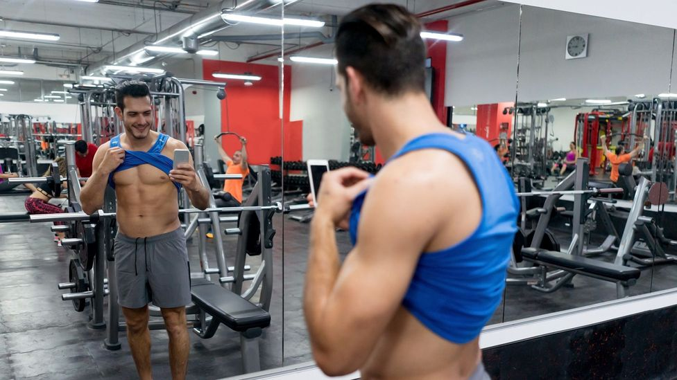 Men who look at #fitspo content more frequently cared more about their own muscles (Credit: Getty)