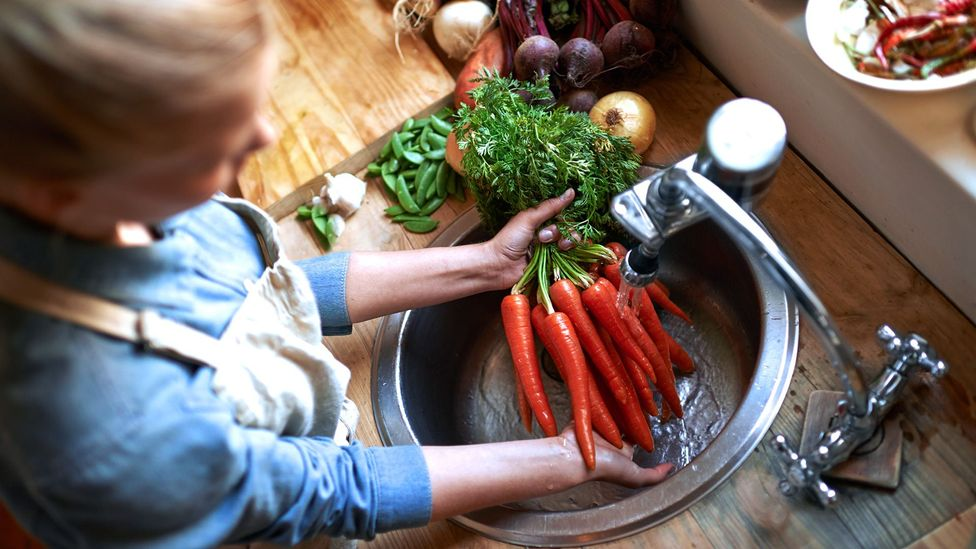 Carrots are one rich source of nitrates, which they acquire from the soil they grow in (Credit: Getty)