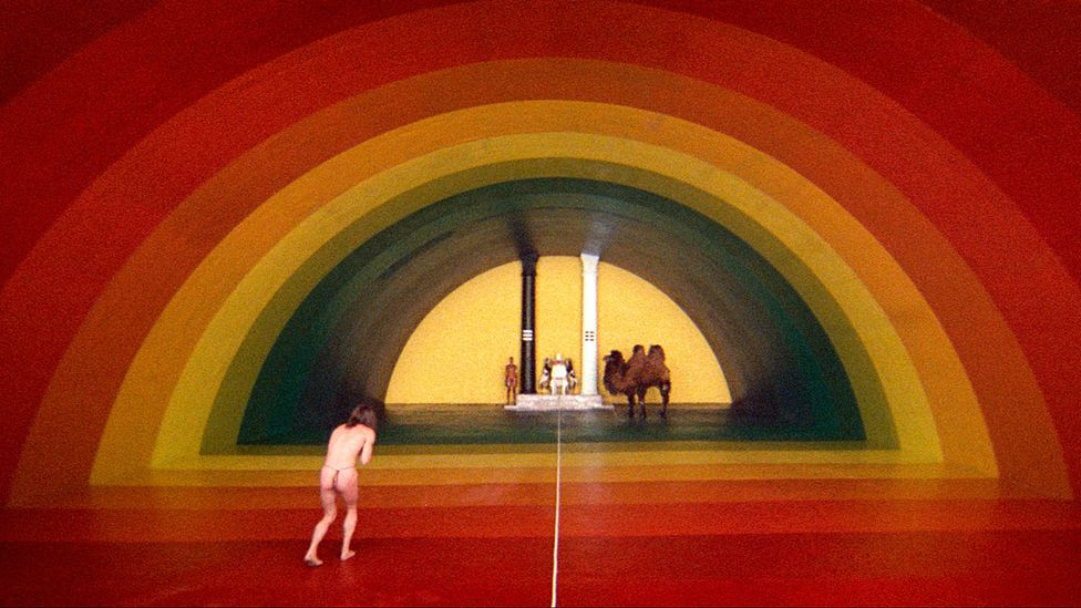 Jodorowsky's surreal 1970s films El Topo and The Holy Mountain helped to establish the 'midnight movie' circuit (Credit: Alamy)