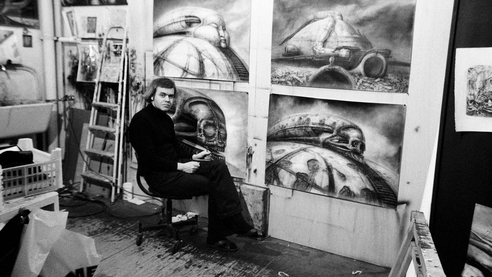 Jodorowsky hired Swiss artist HR Giger to create the visuals for Dune, while prog-rockers Pink Floyd were to provide most of the film's music (Credit: Alamy)