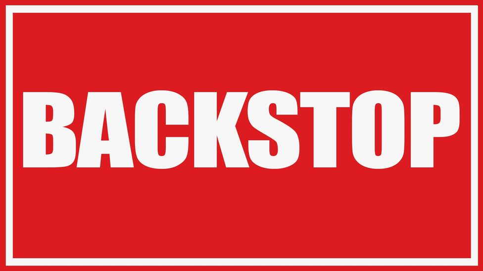 'Backstop' used to refer to sports or finance, but has taken on new meaning since the 2016 referendum