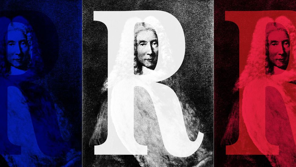The distinctive French 'r' became popular in the late 1600s (Credit: BBC/ Wellcome Collection)