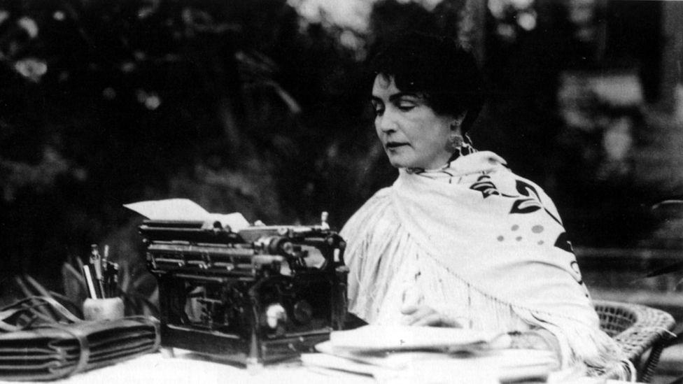 The pioneering director, screenwriter and actress, photographed in 1925 (Credit: Getty Images)