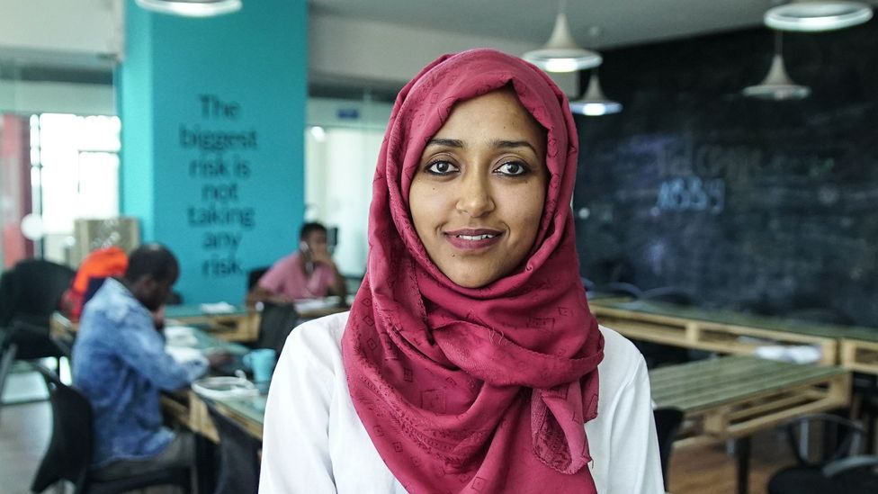 Selam Wondim: Young, ambitious and ready to transform her country (Credit: Thomas Lewton)