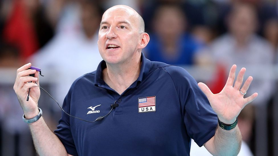 After leading the US men's volleyball team to gold in Beijing in 2008, Hugh McCutcheon led the women's team to silver at the London 2012 Olympics (Credit: Getty Images)