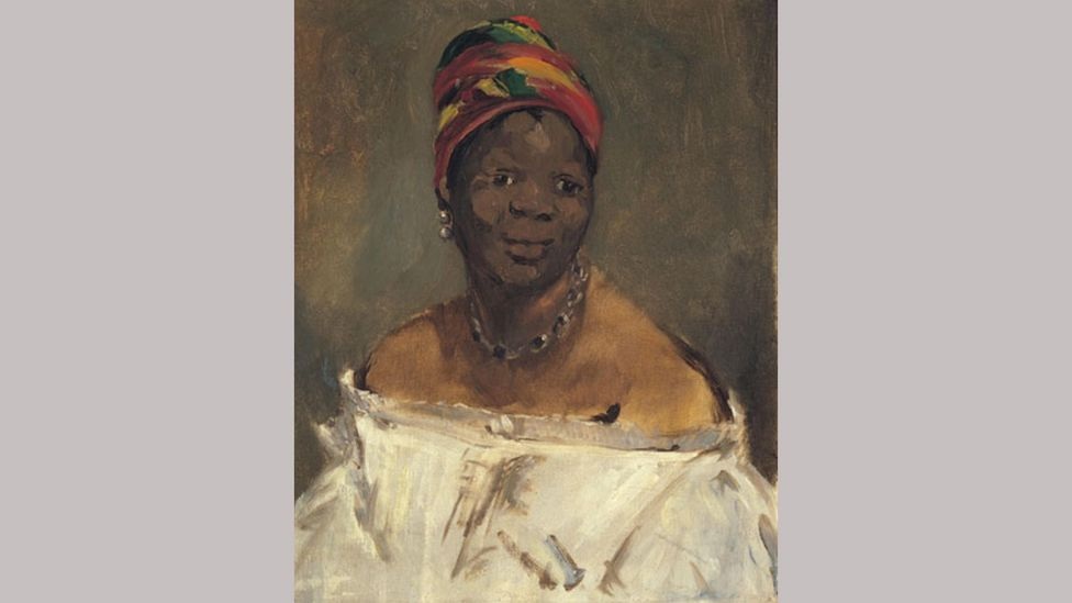 Manet's The Negress (1862-63) has been re-titled Portrait of Laure by the Musée d'Orsay (Credit: Andrea Guerman/ Pinacoteca Giovanni e Marella Agnelli, Turin)