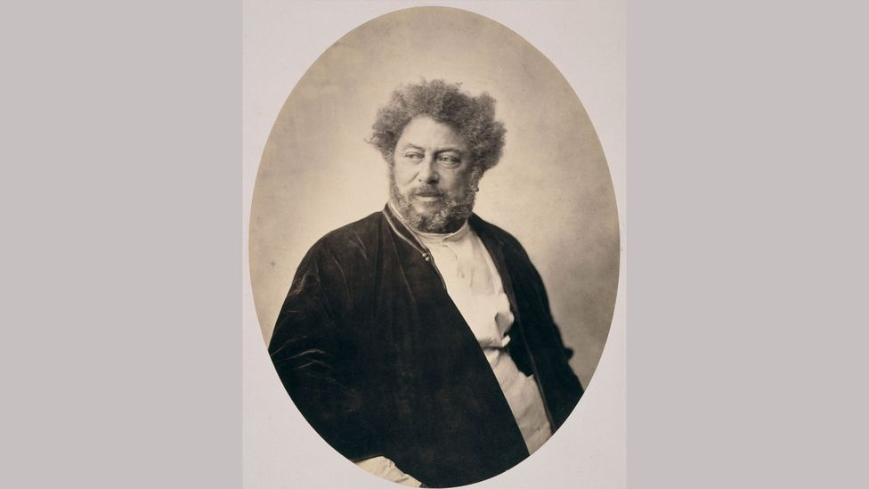 An 1859 portrait of Alexandre Dumas – who was bi-racial – by Gustave Le Gray (Credit: RMN-Grand Palais Musée d'Orsay / image RMN-GP)