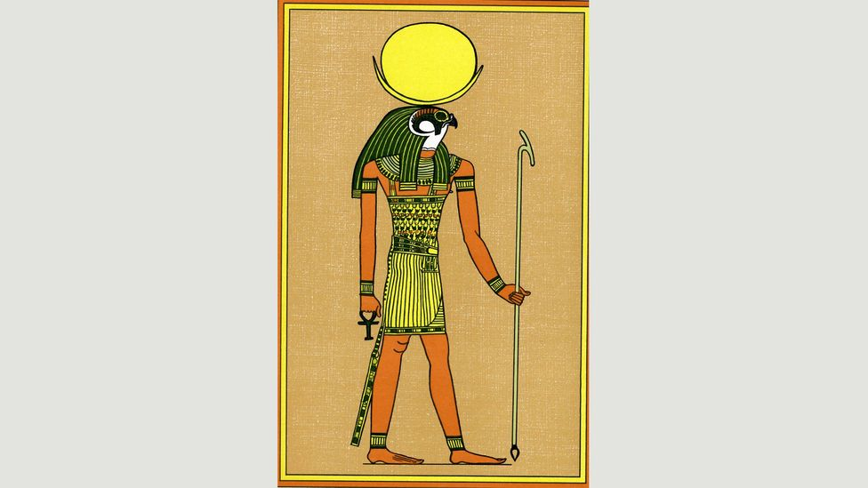 The Ancient Egyptian god of the moon, Khonsu, marked the passage of time; his name means 'traveller' (Credit: Alamy)