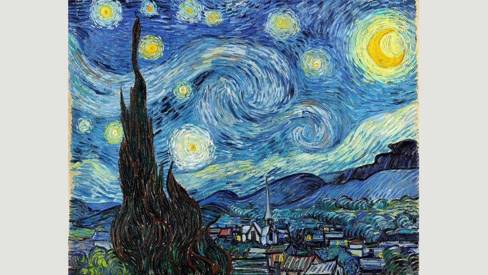 In Vincent van Gogh's Starry Night (1889), the moon is disquieting as well as beautiful (Credit: Alamy)