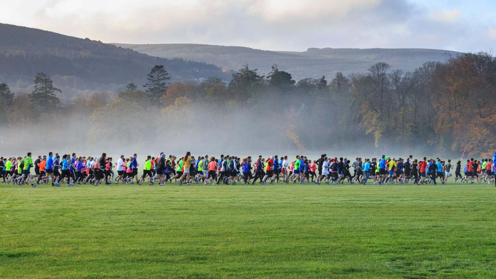 Running has increased in popularity in recent years, particularly among those taking part in organised non-competitive events (Credit: Alamy)
