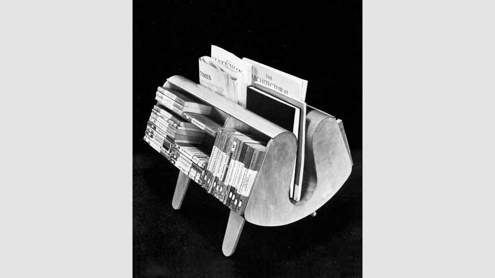 The Isokon Penguin Donkey was originally designed in 1939 by Egon Riss (Credit: Isokon Plus Archive and Pritchard Papers, University of East Anglia)