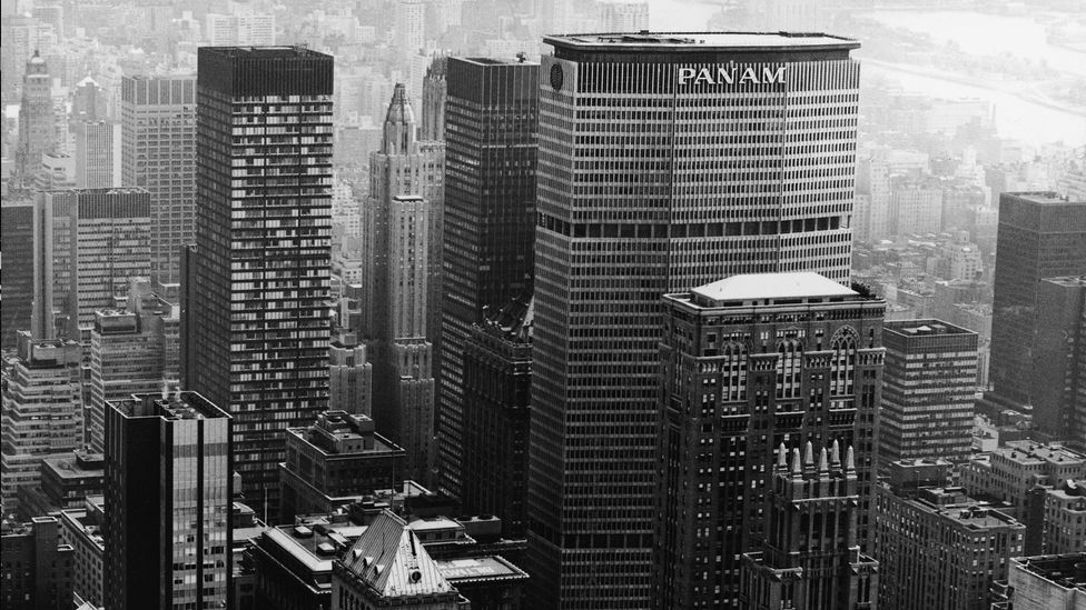 Walter Gropius was one of the architects involved in the iconic Pan Am building in Manhattan (Credit: Getty Images)