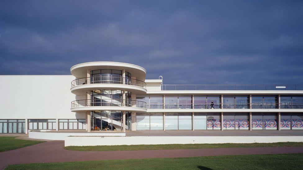 The elegant De La Warr Pavilion in Bexhill, UK, was designed by German architect Erich Mendelsohn (Credit: Getty Images)