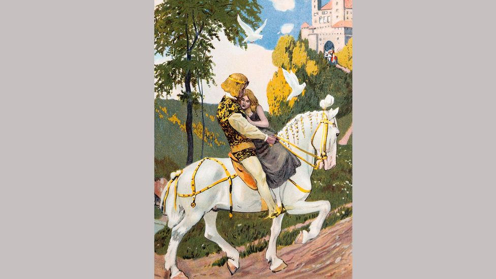 The handsome prince who comes to the rescue is a recurring figure in fairy tales (Credit: Alamy)