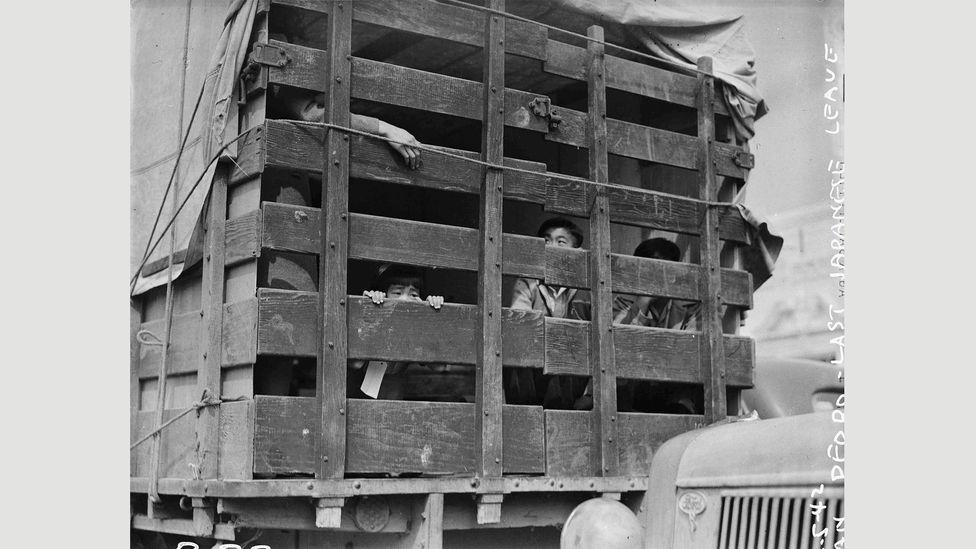 Clem Albers, San Pedro, California, April 5, 1942 (Credit: National Archives)