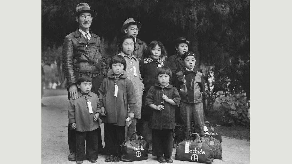 Dorothea Lange, Hayward, California, May 9, 1942 (Credit: National Archives)