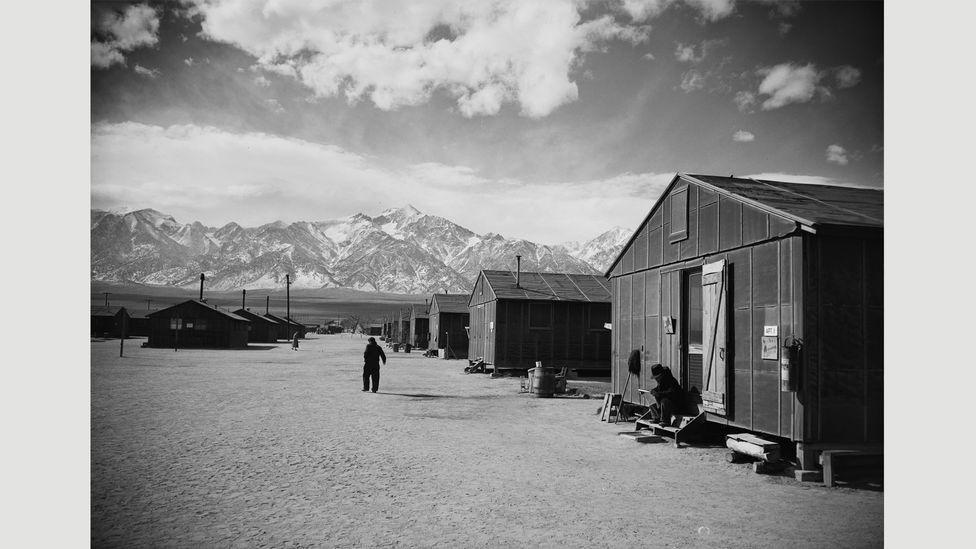 Ansel Adams, Manzanar Relocation Center, 1943 (Credit: Library of Congress, Washington, DC)