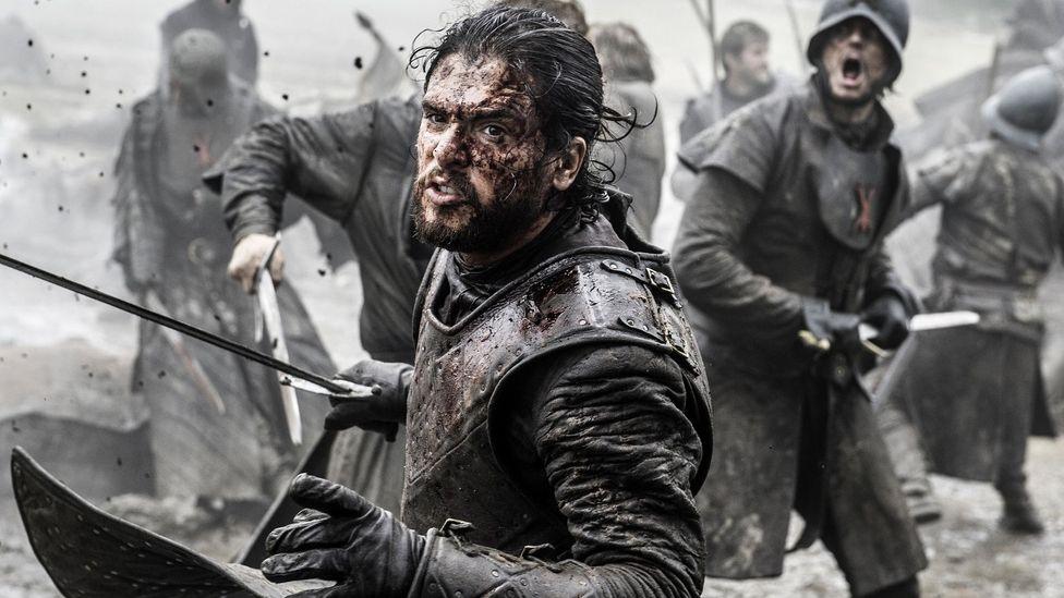 Beyaz Yürüyüşçüleri öldürebilen tek materyalden biri olan Valyrian çeliğinin nasıl dövüleceğinin sırrı zamanla kayboldu (Kredi: Alamy)