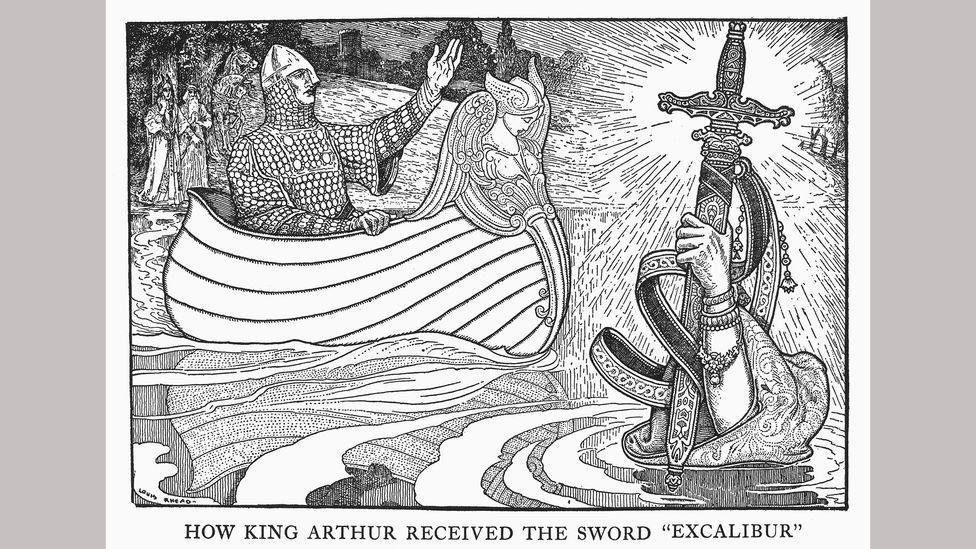 Kılıç ve statü arasında ayrılmaz bir bağlantı var (Kredi: Alamy)
