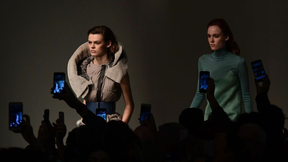 Smartphones already play a major role in the fashion industry (Credit: Getty)
