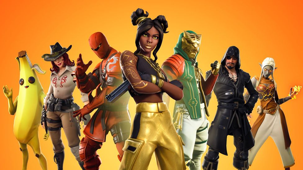 Games such as Fortnite offer players different identities for their avatars, a sign of things to come in fashion (Credit: Epic Games)