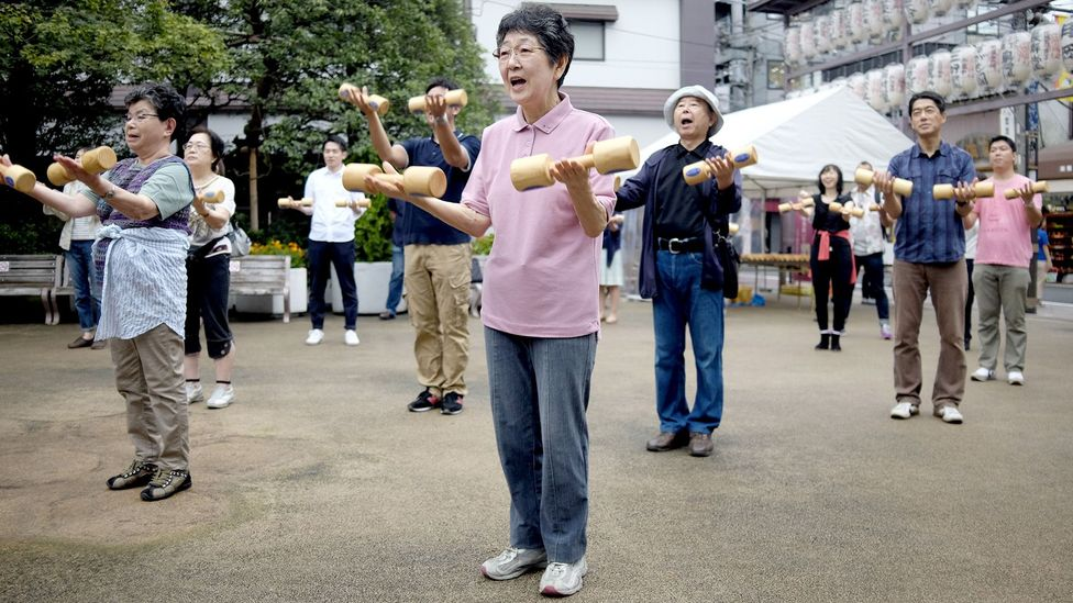 Japan's life expectancy is nearly 84 years, the highest of any nation (Credit: Getty Images)