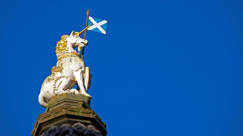 The unicorn is Scotland's national animal (Credit: StockImages/Alamy)