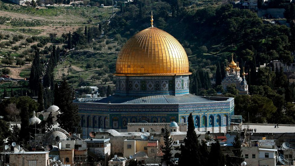 "Jerusalem ""conjures up a sense of the holy, the historical and the heavenly"" – to a potentially overwhelming extent (Credit: Getty)"