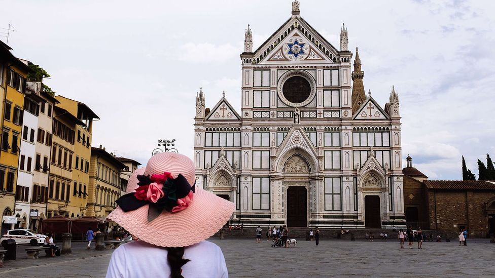 "Stendhal claimed that visiting Santa Croce Basilica was ""the profoundest experience"" (Credit: Getty)"