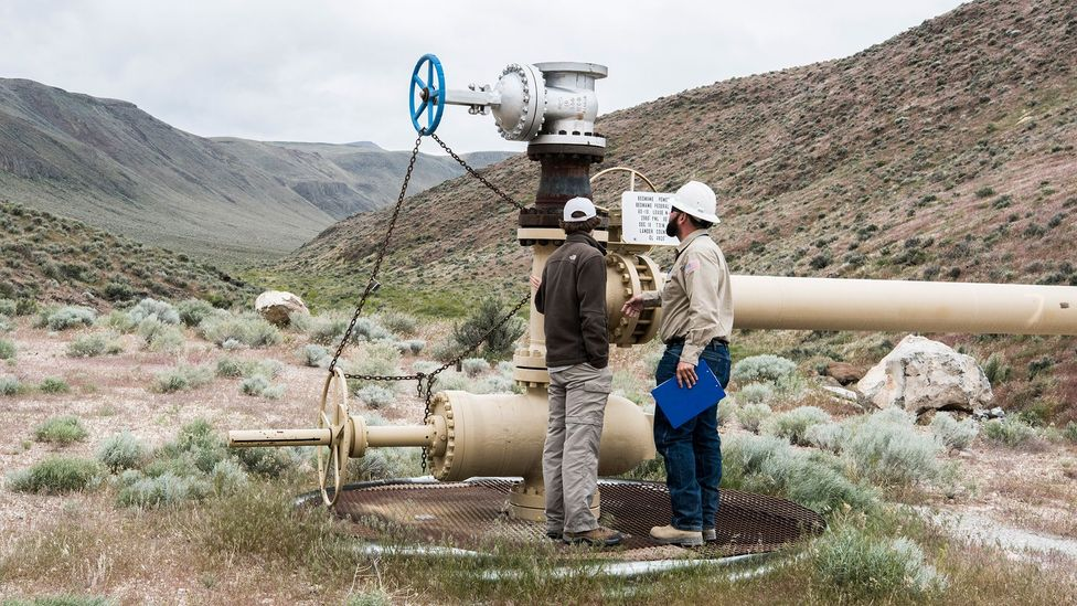 Some carbon offsets work by investing in renewable energy projects such as geothermal (Credit: National Renewable Energy Lab/Creative Commons)