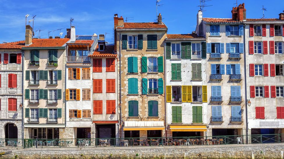 Bayonne is part of France's Basque Country, home to less than 300,000, compared to more than two million Spanish Basques (Credit: Boris Stroujko/Alamy)